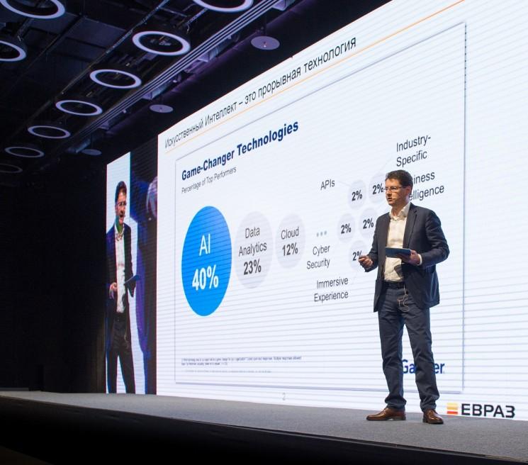 Вице-президент по ИТ «Евразхолдинга» Артем Натрусов описал практический опыт своей компании в цифровой трансформации