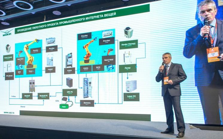 Директор по ИТ в УАЗ Евгений Ступин прочитал доклад на тему цифровой трансформации автопроизводителя, описав кейсы ИТ-проектов с реальным эффектом